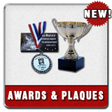 Custom medals, trophies and plaques
