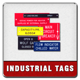 Industrial Lamacoid Tags