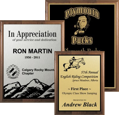 Award & Recognition Plaques